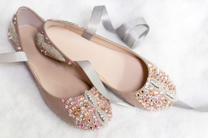 Nutcracker-Inspired Ballet Slippers