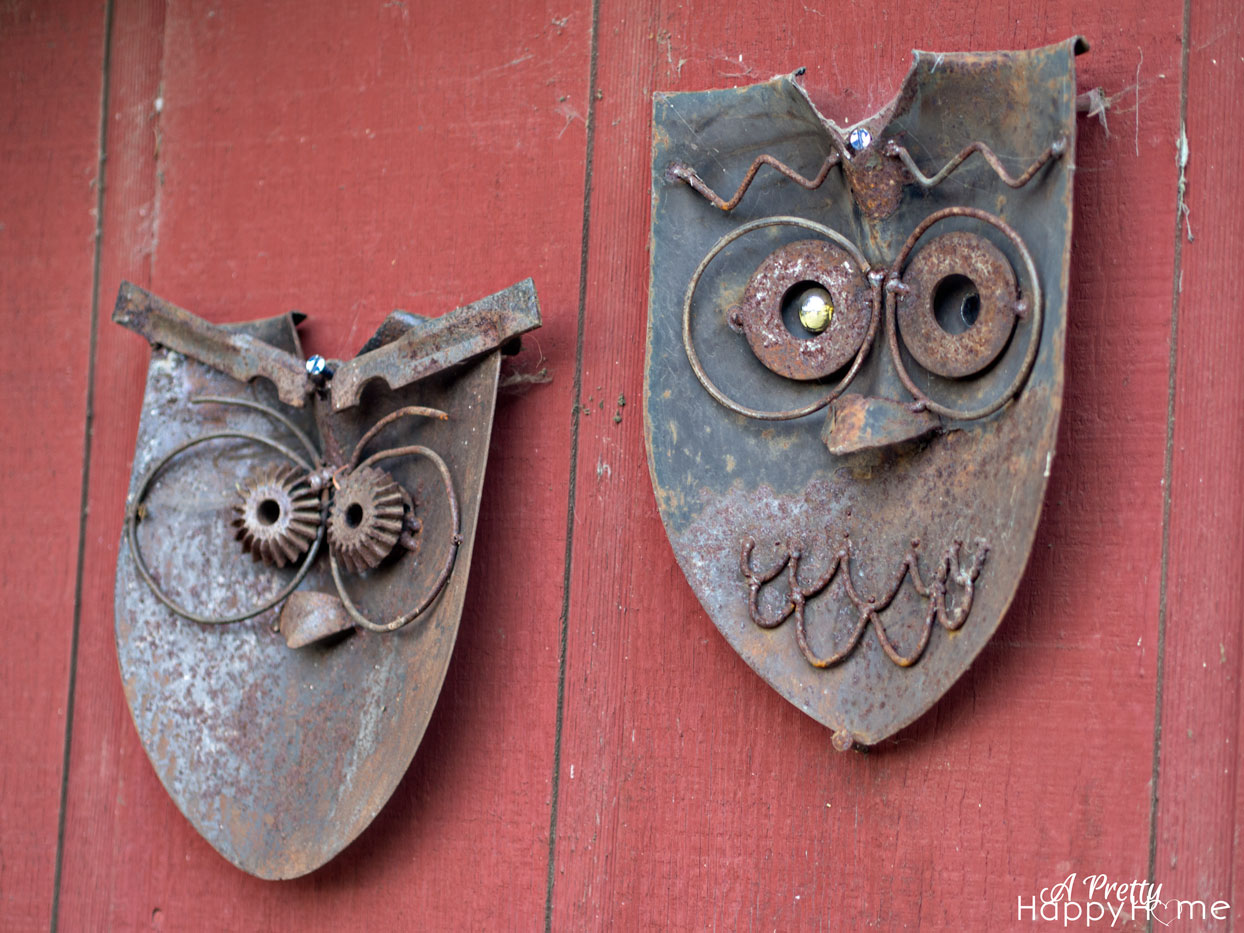 Shovel Head Owl Art